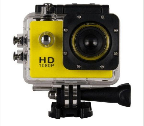 top popular Wholesale SJ4000 Full HD Action Digital Sport Camera 2Inch Screen Waterproof 30M DV Recording Mini Sking Bicycle Photo Video 2021
