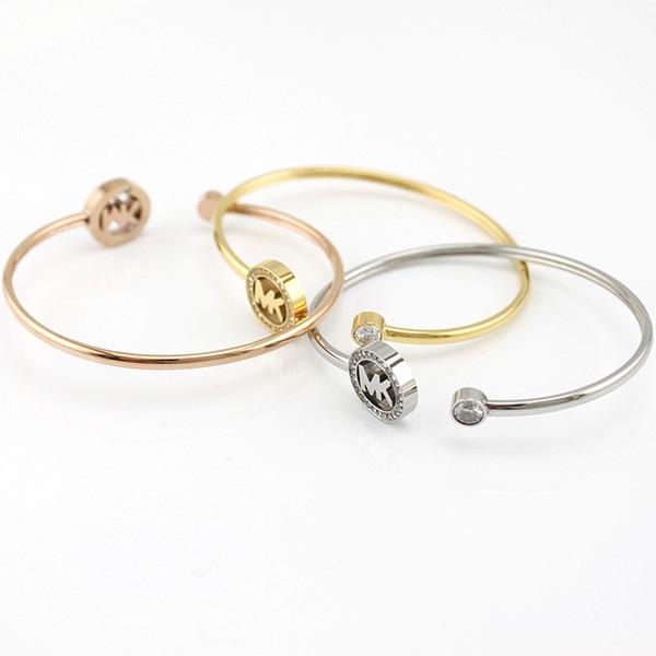 Braccialetti di chiusura delle donne di Hotsales 925 pendenti placcati in oro sterling dei pendenti dei braccialetti di fascino dei braccialetti per le donne degli uomini B006