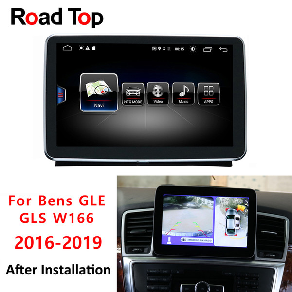 Android 8 Display 4G RAM 64G For Mercedes Benz W166 Car GLE GLS Vehicle  Radio Multimedia Monitor GPS Navigation Bluetooth Head Unit Car Pc Parts  Car