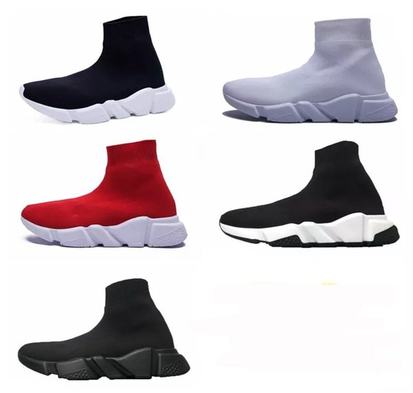 Sale online Sock Booties Sports Running Shoes,Training Sneakers Shoes,Speed Knit Sock High-Top Training Sneakers