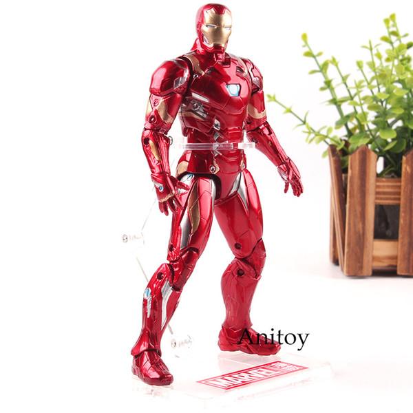 Captain America 3 Guerre Civile Figure Marvel Figurines Iron Man Avengers Jouets Chauds PVC Collection Modèle Jouet 17.5 cm