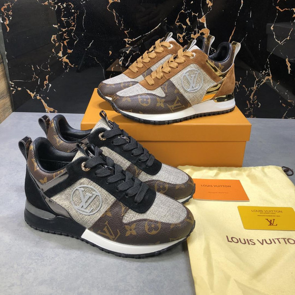 best selling 2019S new luxury design high quality ladies casual shoes, fashion women's sports shoes, high-end ladies travel shoes, original box invoice p