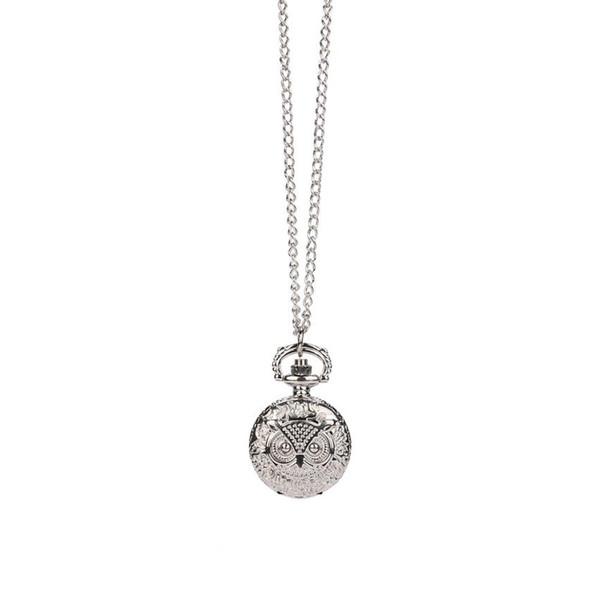 XINIU Retro Bronze Design Pocket Watch Quartz Pendant Necklace Gift Montre femme marque de luxe 2018 #35