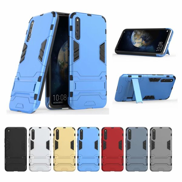 For Huawei Honor Magic 2 Case Stand Rugged Combo Hybrid Armor Bracket Impact Holster Protective Cover Case For Huawei Honor Magic 2