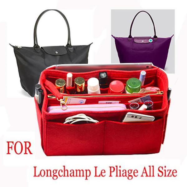 İç torba Çanta insert alışveriş NEO Cuir Büyük orta küçük torbaları alışveriş çantası şekillendirici çanta Organizatör bezini uyar