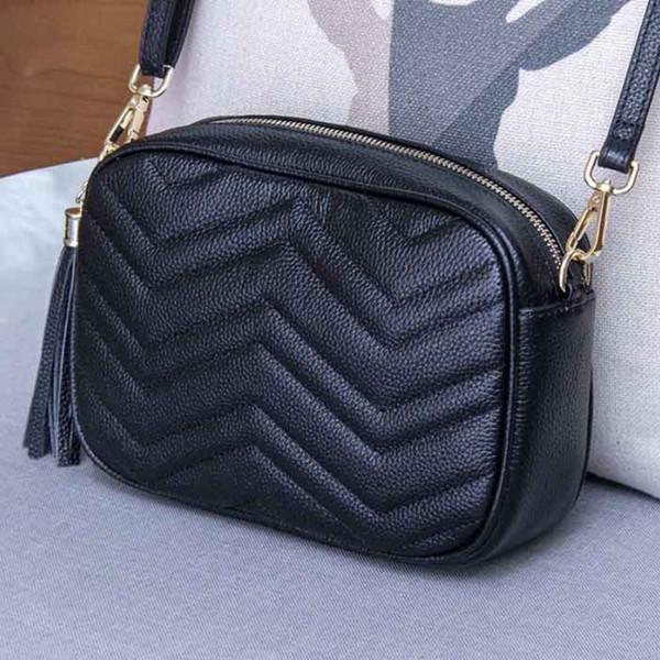 shoulder bag handbag genuine leather Authentic leather bag tote coin purse black dark navy burgundy fashion 10pcs per lot