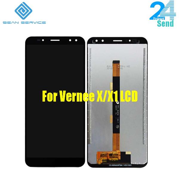 Для оригинального Vernee X ЖК-дисплей + сенсорный экран дигитайзер сборка запасных частей 2160 * 1080P 6.0 дюймов 18: 9 FHD для Vernee X1