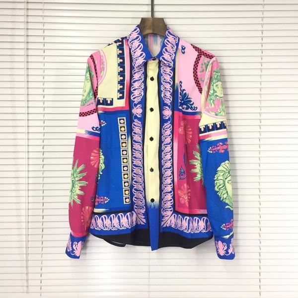 Luxury Italy Snake head woman Print High Quality designer t shirt Men Women Clothes Cotton brand Shirt Summer Tee handbag tag Long-sleeved