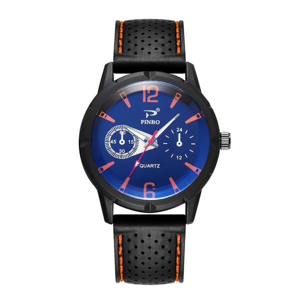 Yeni Kuvars Erkek Spor Kauçuk Lüks İzle Renkli Moda Silikon Saatler Analog Erkek Saatı Saat Relogio Masculino