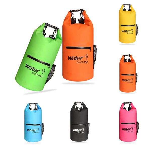 New Style Floating Waterproof Dry Bag 20L Storage Sack Swimming Waterproof Bag Keeps Gear Dry for Kayaking Rafting Boating Hiking M234Y