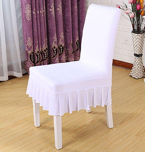 Free Shipping Hot Selling Universal Plain Lycra Spandex Dining Home Party Chair Cover In 18 Designs