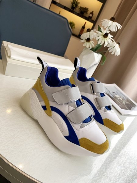 Women Rhyton Casual Shoes Classic Paris Dad Platform Leather Shoes Sneakers Thick Bottom Dad Sneaker Zapatos