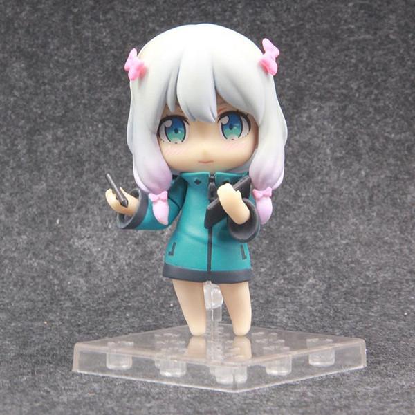 NOUVEAU chaude 10 cm Izumi Sagiri Eromanga Sensei À Genoux action figure jouets cadeau de Noël jouet avec boîte