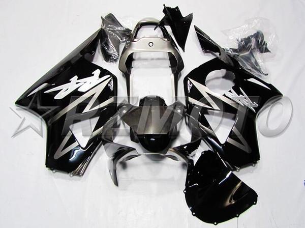 3Gifts New ABS Motorcycle fairings Kit Fit for HONDA CBR954RR CBR900RR 954 02 03 CBR954 2002 2003 bodywork set Fairing cool black gray