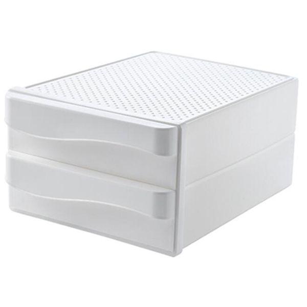Plástico de armazenamento gavetas Caixa de armazenamento Cosmetic Household desktop Jóias Caixa de Acabamento gaveta penteadeira Skin Care cremalheira