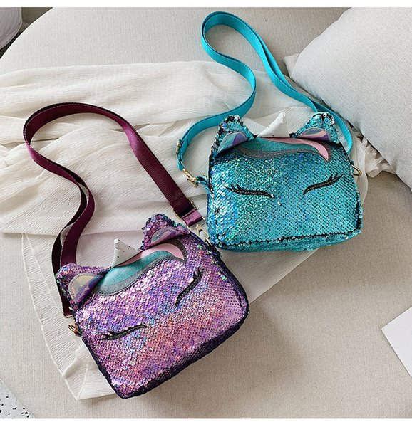 2019 Cartoon Children Bag Fox Shape Handbag Lovely Fresh Messenger Bag Adjustable Strap Outdoor Sports Purse Wallet Camping Bags M21Y