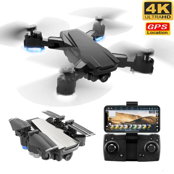 New gp drone with 4k hd adju tment 50x zoom camera wide angle wifi fpv rc quadcopter profe ional foldable drone t191105