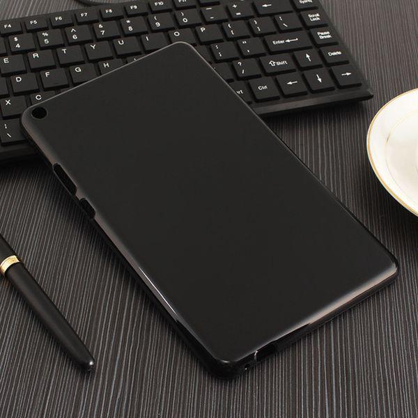 Para xiaomi mi pad 4 plus case tpu macio preto tampa transparente funda para xiaomi mi pad 4 bumper bumper inteligente caso