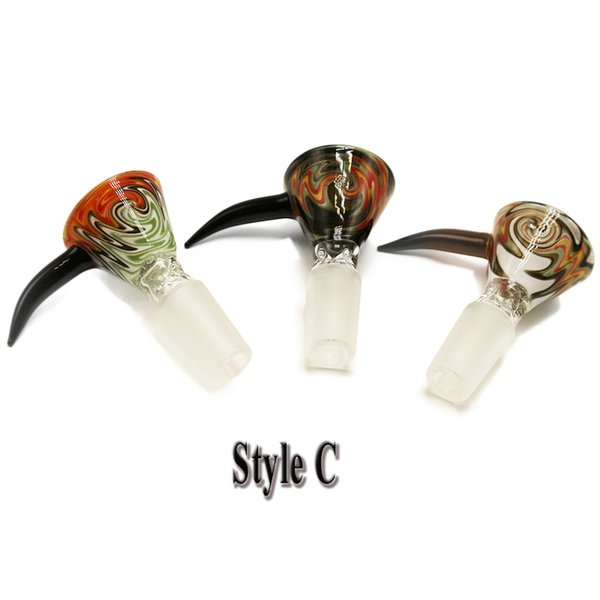 style C 14mm male with mixed color