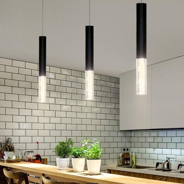 De De 95 Lámparas A9 Colgante Tienda Compre Cocina Lámpara Mostrador Led Colgante Comedor Decoración Lámpara Cocina Bar Cilindro Tubo Del Isla 8vNn0wm