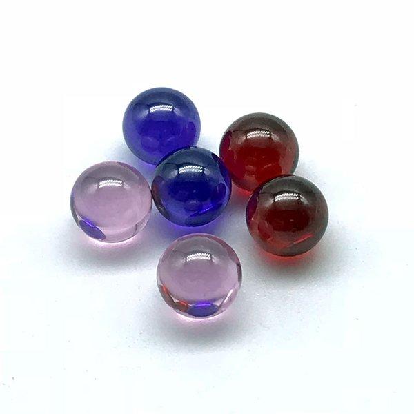 En gros 6mm Quartz Terp Dab Perles Rouge Rose Pourpre Quartz Terp Perles Boule Insérer Pour L XL XXL Quartz Banger Nails Dab Rigs