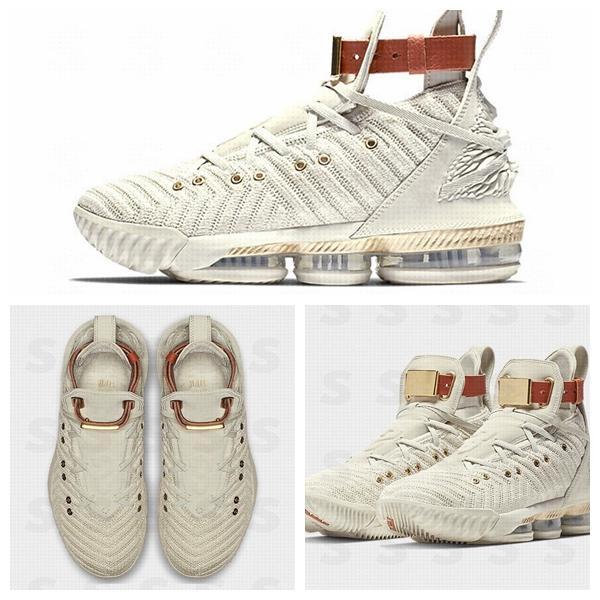 Kapalı Yeni Stil XVI 16 Harlem 'ın Moda Sıra Basketbol Ayakkabı En kaliteli Moda Erkek Eğitmenler 16 s HFR Spor Sneakers Tasarımcısı aIR Chaussures