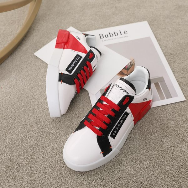 top popular 2019z autumn new luxury designer couple casual sports shoes, high quality fashion wild low-top shoes, original box packaging, size: 35-45 2019