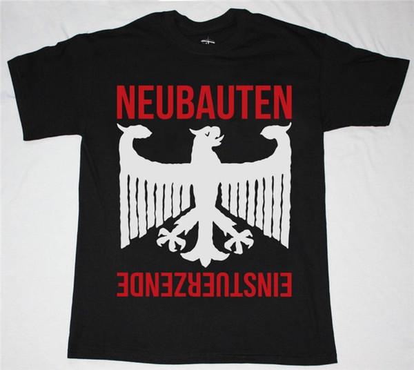 Cheap Sale 100% Cotton T Shirts For Boys Einsturzende Neubauten Short Funny Crew Neck T Shirt For Men