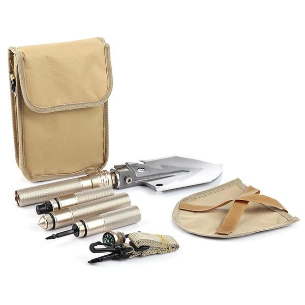 Professional Tactical Multifunctional Shovel kit Outdoor Camping Survival Shovel Folding Spade Tool Equipment Garden Army tools