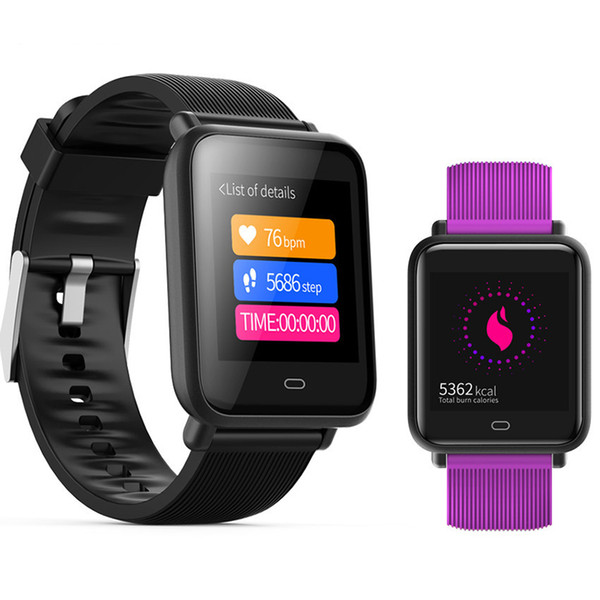 Smartwatch IPX67 Waterproof Sports For Android IOS With Heart Rate Monitor Blood Pressure Functions Smart Watch