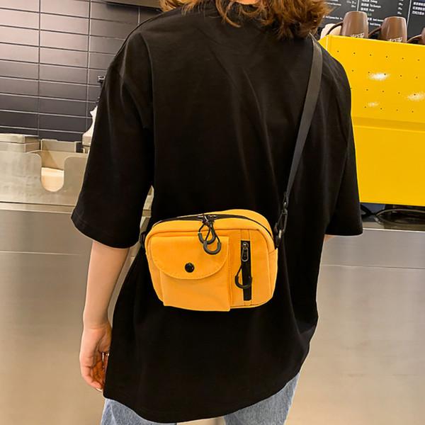 Frauen Leinwand Umhängetasche Mode Leinwand Umhängetasche Teenager Mädchen Damentaschen niedlich Schulter für Frauen 2019 # 15