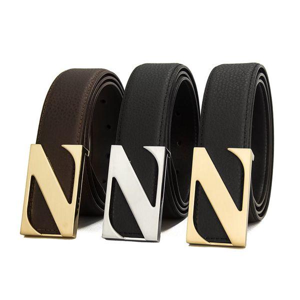 Luxo Cor Sólida Calças Cintos de Designer de Moda Cintos de Couro Genuíno Cintura Cintas Das Mulheres Dos Homens de Luxo Cintos Casuais