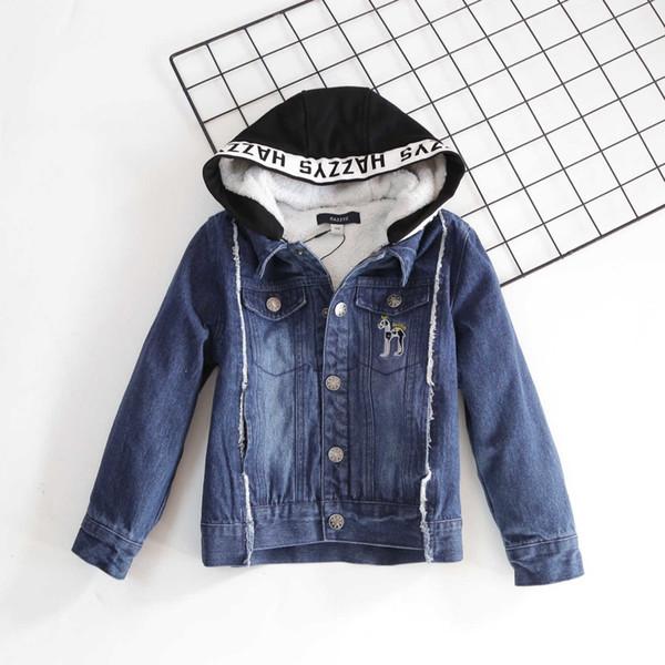 manteau de garçon de haute qualité WSJ000 occasionnel résistant à l'usure # 113033 ming62
