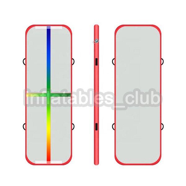 red rainbow line