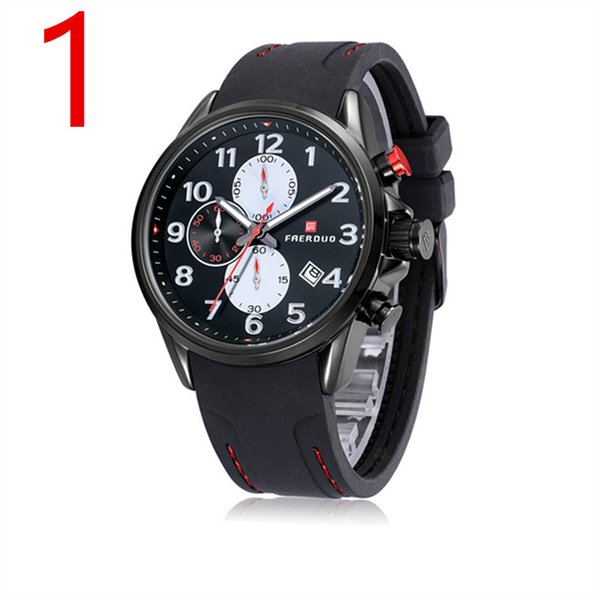 quartz watch in 2019, high quality waterproof military form, unique design of male form accurate calendar.16