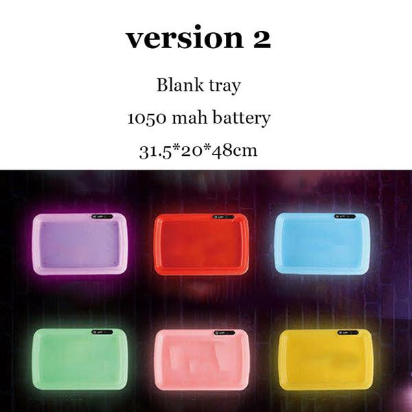 V2 blank tray