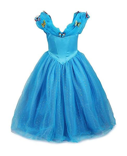 Cosplay Cinderella Dress Princess Costume Girl Queen Party Dress up