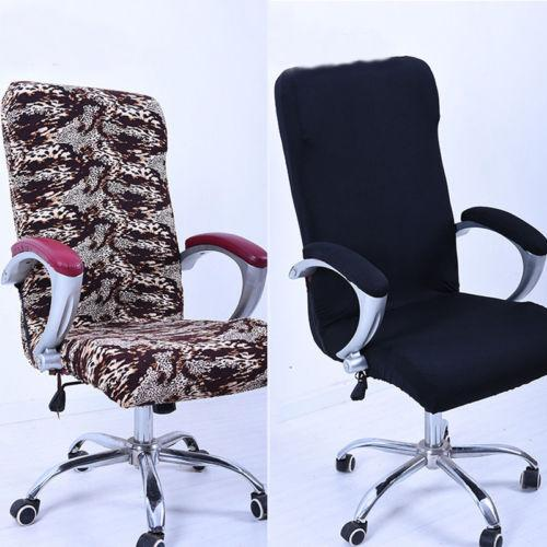 Office Chair Cover Swivel Chair Computer Armchair Protector Task Slipcover