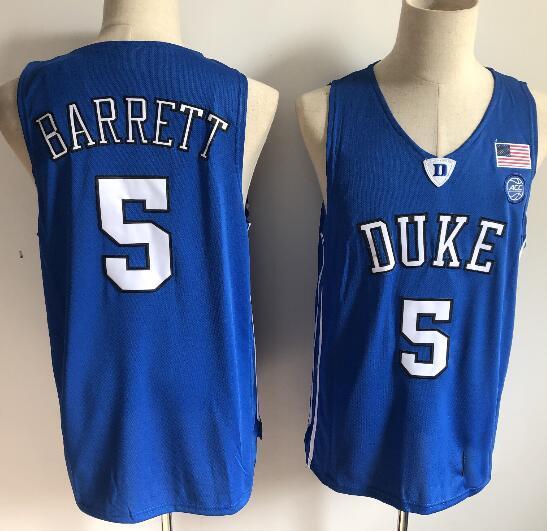 5 RJ Barrett azul cuello redondo