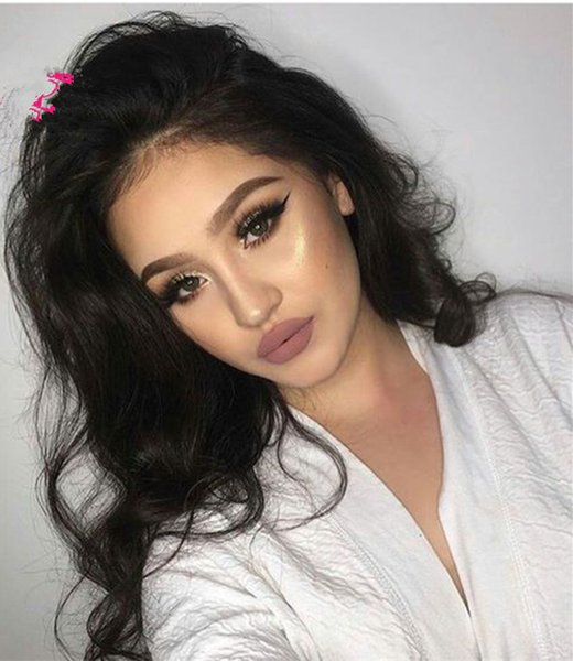 Sexy Hair Lace Front Wig Big Curly Glueless Long Full Lace Wigs Human Hair Wigs For Black Or White Women Fashion In Stock