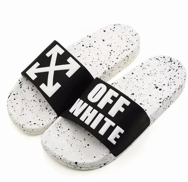 Luxury Slide Summer Fashion Wide Flat Slippery With Thick Sandals Slipper Men Women Sandals Designer Shoes Flip Flops Slipper 36-45