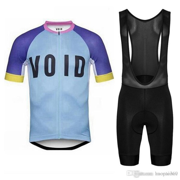 2018 VOID team Cycling Short Sleeves jersey Breathable Quick dry Clothing Bicycle Sportwear Bib shorts sets 815010J