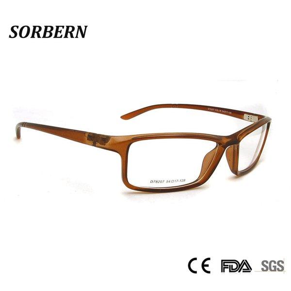 TR90 Plastic Titanium Male Spectacle Frames Eyeglasses Optical Glasses Frame For Men Eyewear Prescription Myopia Frame Oculos
