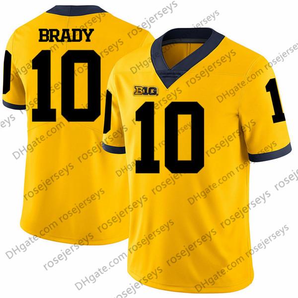 10 Tom Brady Jaune