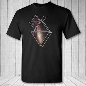 Galaxy Geométrico t NGC 7331 Galaxy camiseta espacio camisa cosmos camisa W