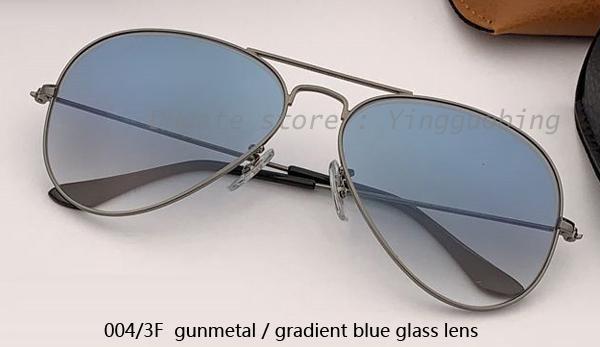004 / 3F бронзовый / градиентный синий