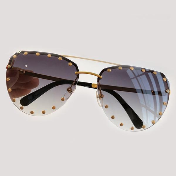 Design moda Occhiali da sole polarizzati 2019 Donne Occhiali Da Sole Tonalità SFUMATO Donna