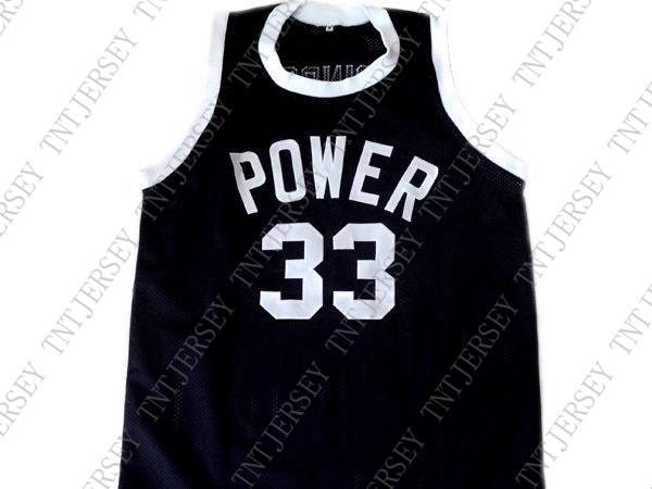 wholesale Alcindor #33 Power High School Abdul Jabbar Basketball Jersey Stitched Custom any number name MEN WOMEN YOUTH BASKETBALL JERSEYS