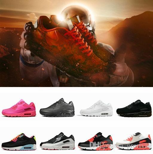 2019 neue Ankunfts-90 Mars-Landung 3M Laufschuhe für Männer Leder-Designer-athletischen Turnschuh-Männer Frauen 90s Joggen im Freien Schuhgröße 36-46