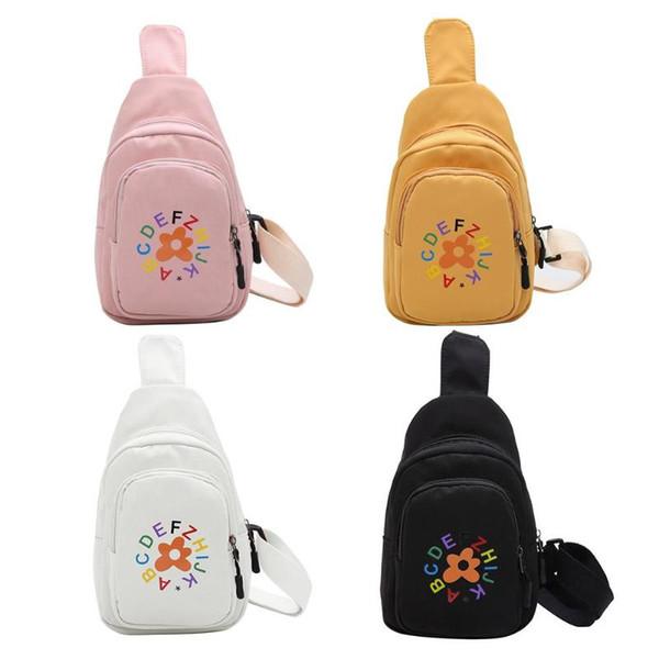 Schultertasche für Frauen Brief Blumen-Druck-Schulter-Kurier-Handtaschen Umhängetasche Brusttaschen